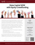 VLAB Founders Series - Equity Crowdfunding